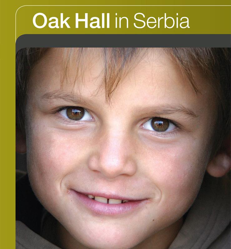 Oak Hall in Serbia